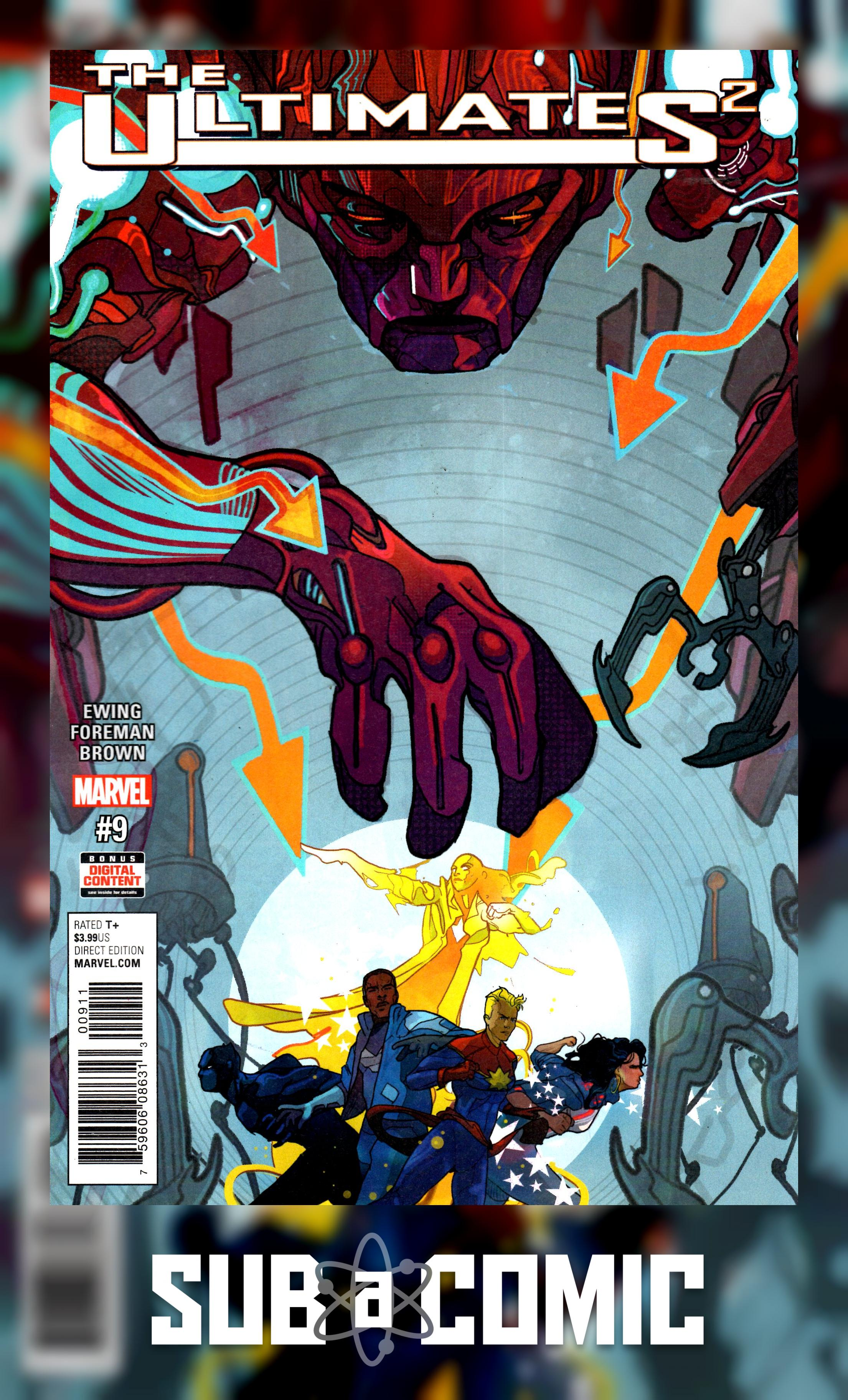 ULTIMATES 2 #9 (MARVEL 2017 1st Print) COMIC